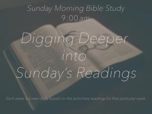 Bible Study Ad copy