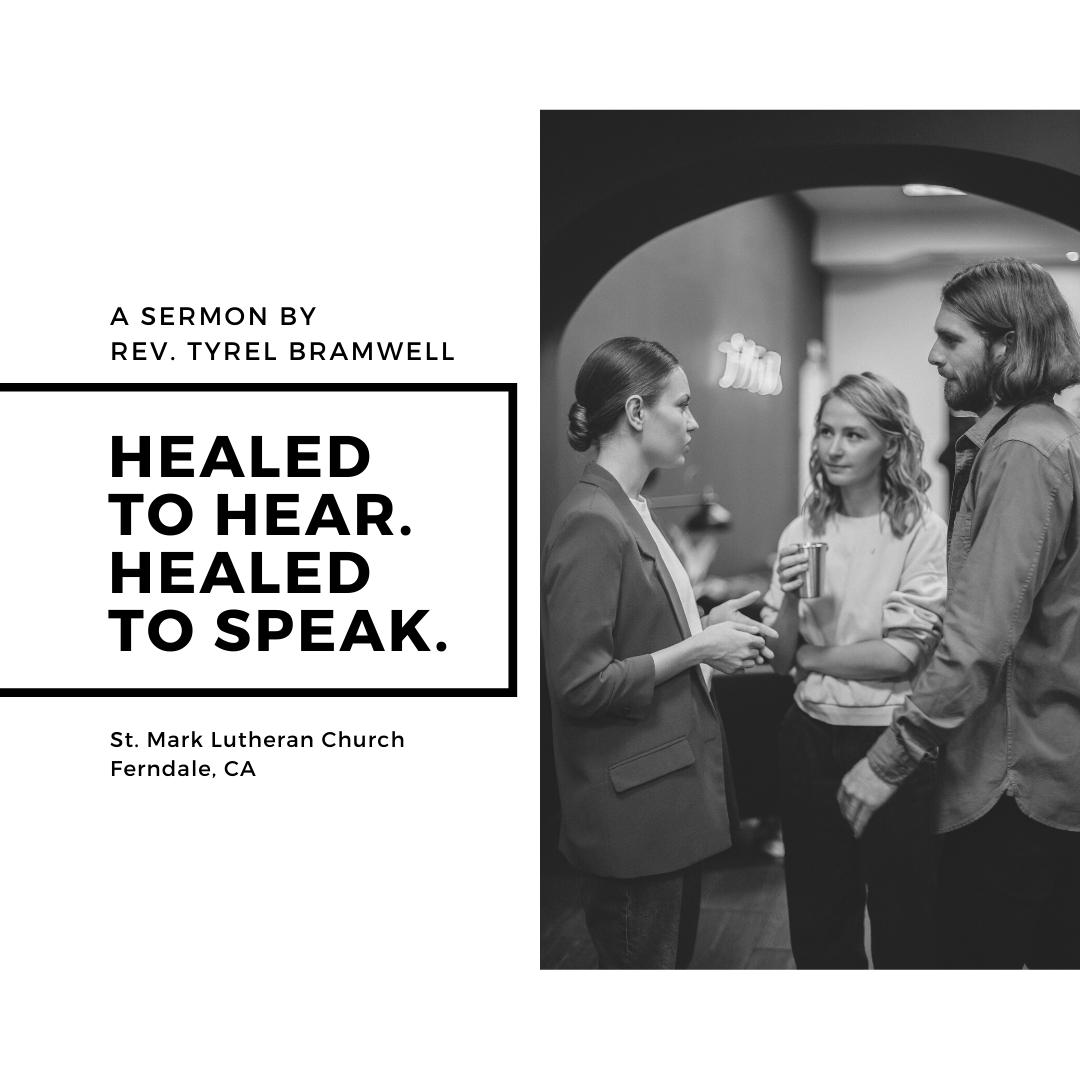 HEaled to hear. HEaled to Speak.