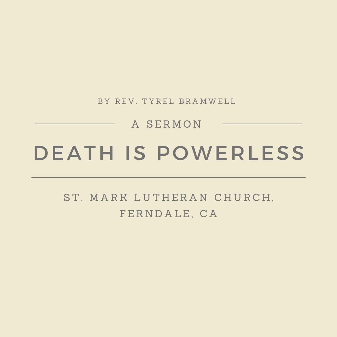 Death is Powerless